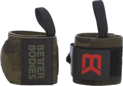 BB camo wrist wraps Patterned/Green