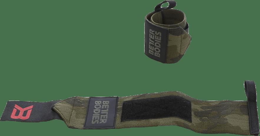 BB camo wrist wraps Patterned/Green