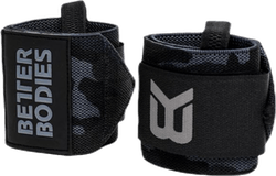 BB camo wrist wraps Patterned