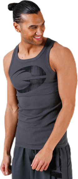 Original ribbed tank Grey