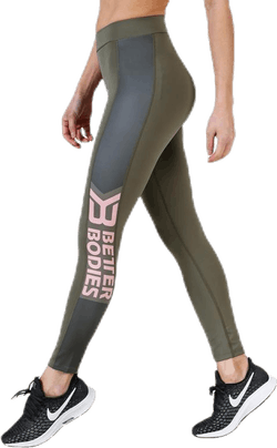Chrystie High Tights Green