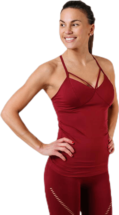 Waverly Strap Top Red