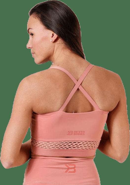 Waverly Mesh Bra Pink