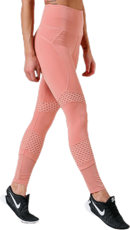 Waverly Mesh Tights Pink