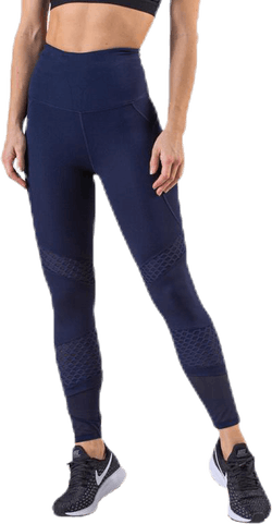 Waverly Mesh Tights Blue