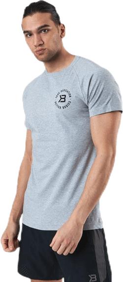 Gym Tapered Tee Grey