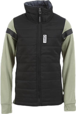 Madrid Girls Hybrid Jacket Black/Green
