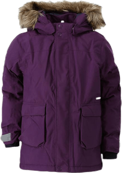 Kure Kid's Parka Purple
