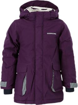 Indre Kid's Parka Purple