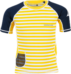 Surf Shortsleeve UV Top Blue/Yellow