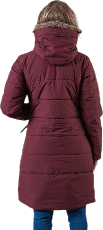 Valentina Parka Red