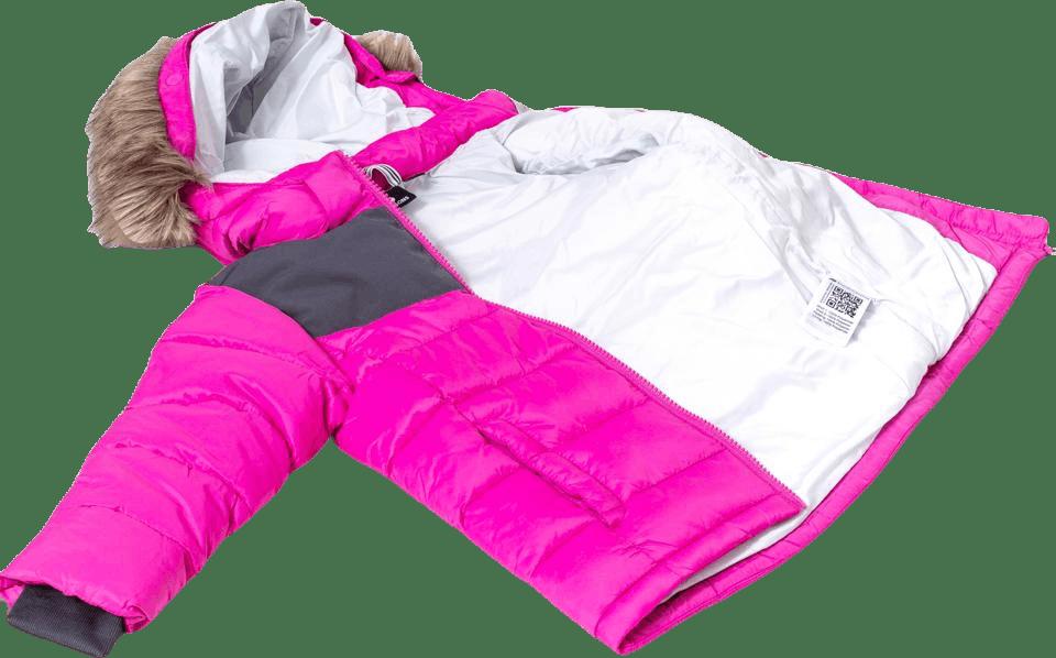 Digory Kid's Puff Jacket Pink
