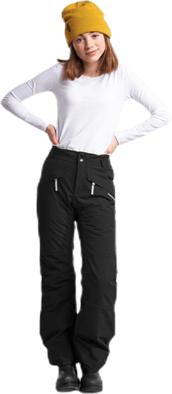 Svea Girl's Pants Black