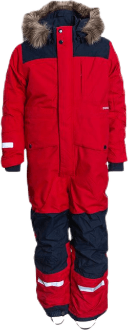 Björnen Kid's Coverall Red