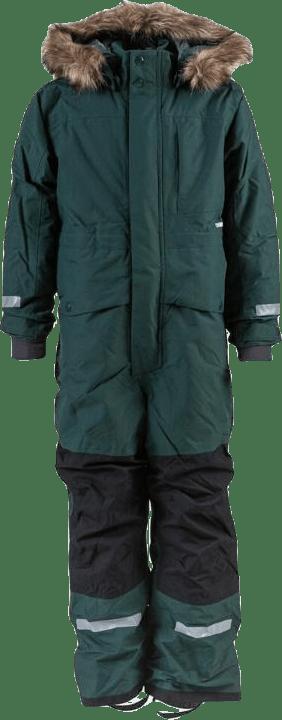 Björnen Kid's Coverall Green