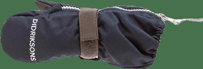 Biggles Kid's Zip Mittens 3 Blue