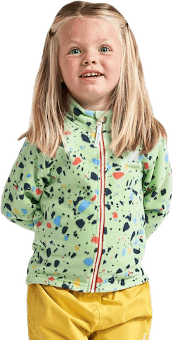 Monte Printed Kids Jacket Green