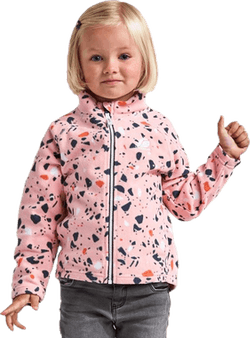 Monte Printed Kids Jacket Pink