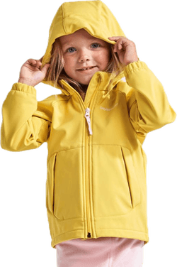 Dellen Kids Softshell Jacket Yellow