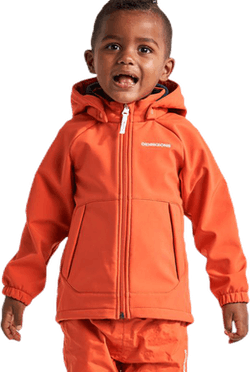 Dellen Kids Softshell Jacket Orange