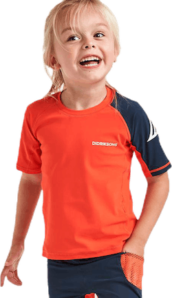 Surf Kids SS UV Top Orange