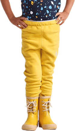 Monte Kids Microfleece Pants Yellow