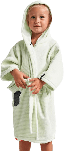 Pier Kids Beach Robe Green
