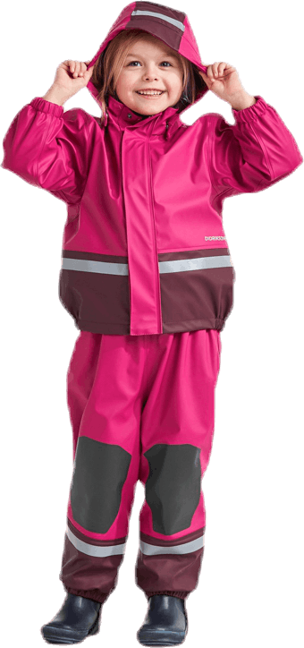 Boardman Padded Rain Set Pink