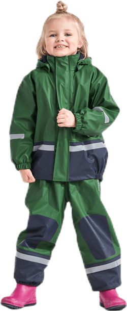 Boardman Padded Rain Set Green