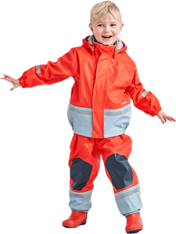 Boardman Padded Rain Set Orange