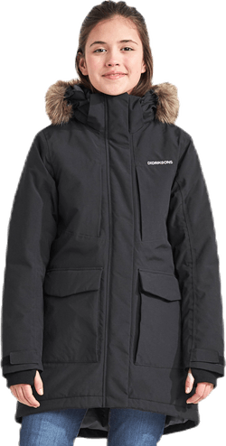 Jamila Girls Parka 2 Black