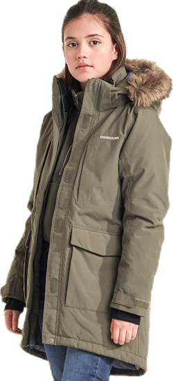 Jamila Girls Parka 2 Green