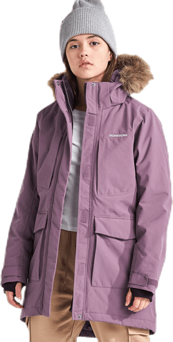 Jamila Girls Parka 2 Purple
