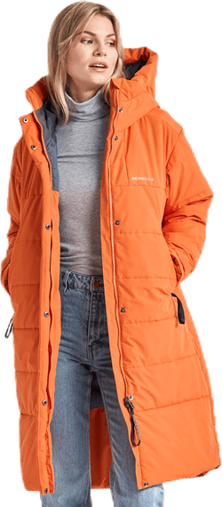 Tindra Puff Parka Orange