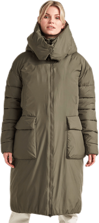 Melina Puff Coat Green