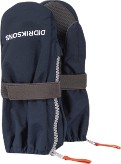 Biggles Zip Mittens Blue