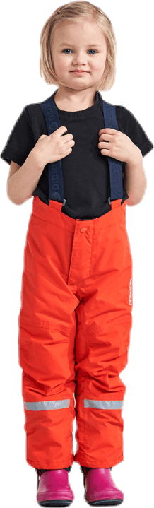 Idre Kids Pants 4 Orange