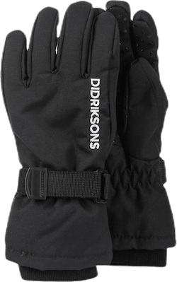 Biggles Five Gloves Black