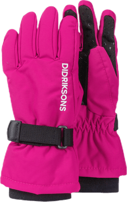 Biggles Five Gloves Pink