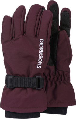 Biggles Five Gloves Purple