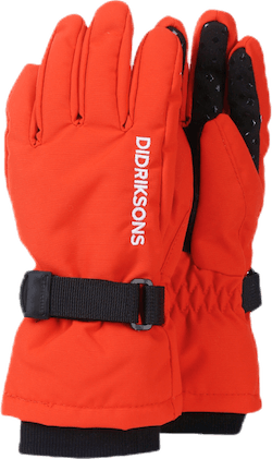 Biggles Five Gloves Orange