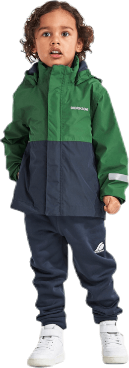 Bri Fleece-Lined Shell Green