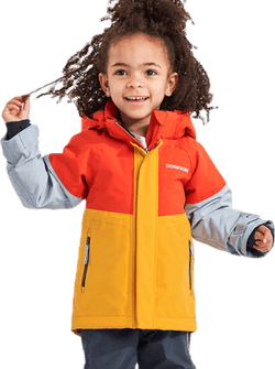 Lun Jacket 2 Orange/Yellow