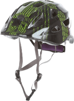 Bicycle helmet JR Green/Black
