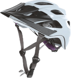 Bicycle helmet White