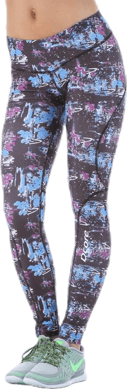 Pixel Tights Patterned