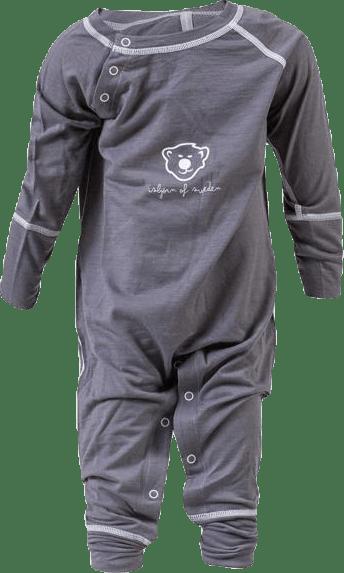 Husky Baby Jumpsuit Baselayer Grey