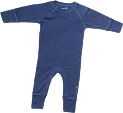 Husky Baby Jumpsuit Baselayer Blue