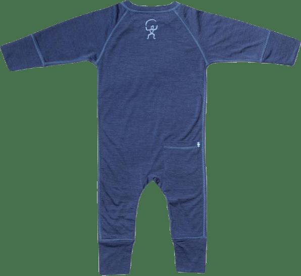 Husky Baby Jumpsuit Baselayer Blue