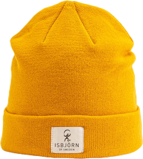 Sunny Double Knit Cap Yellow